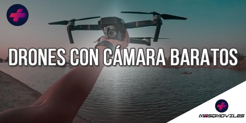 Comparativa de los Mejores Drones con Cámara Baratos 2021